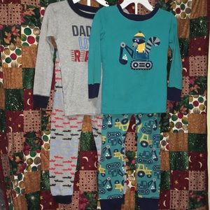 (2) Sets of Toddler Pajamas
